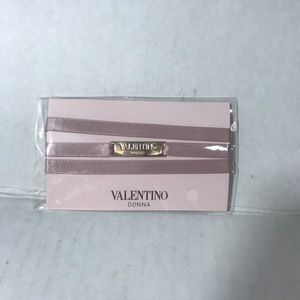 Valentino Donna pink tie  bracelet new authentic